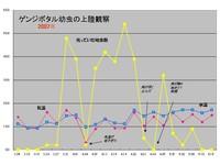 上陸観察集団成果グラフ
